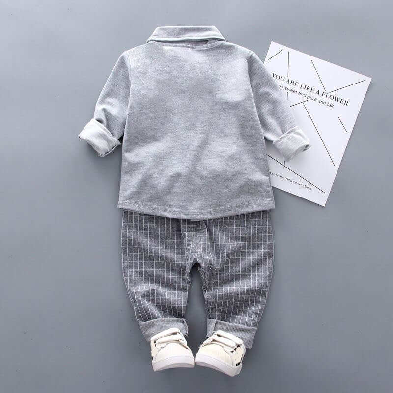 Baby Boy's Formal Style Clothing Set