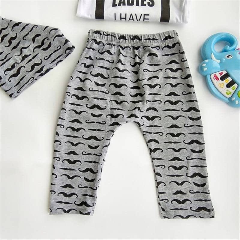 Printed Cotton Baby's Romper Clothing Set