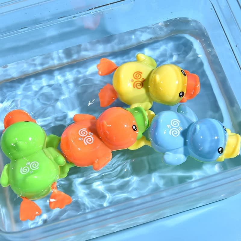 Baby Bath Wind-Up Swimming Toy