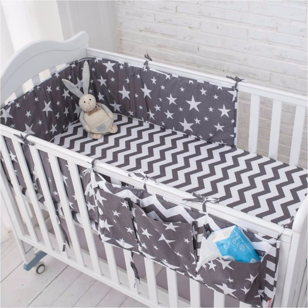 Cute Star Patterned Cotton Baby Bedding Set