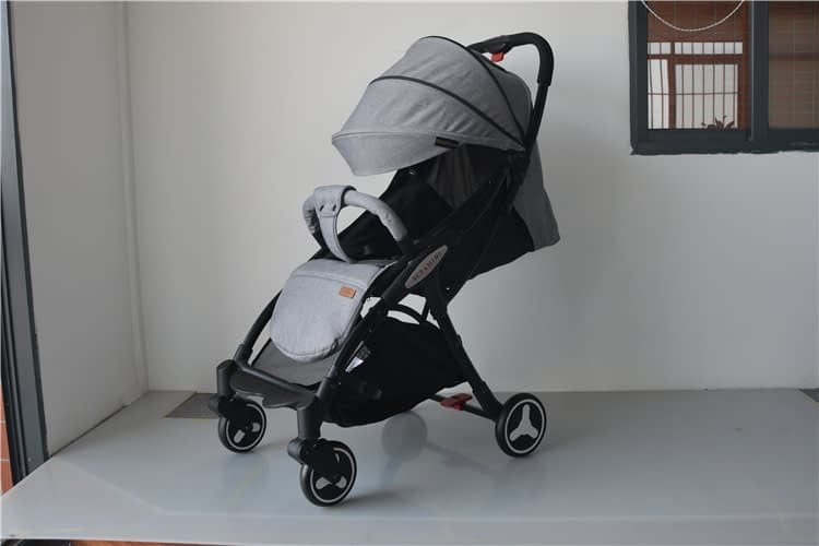 Folding Baby Stroller with Shock Absorption