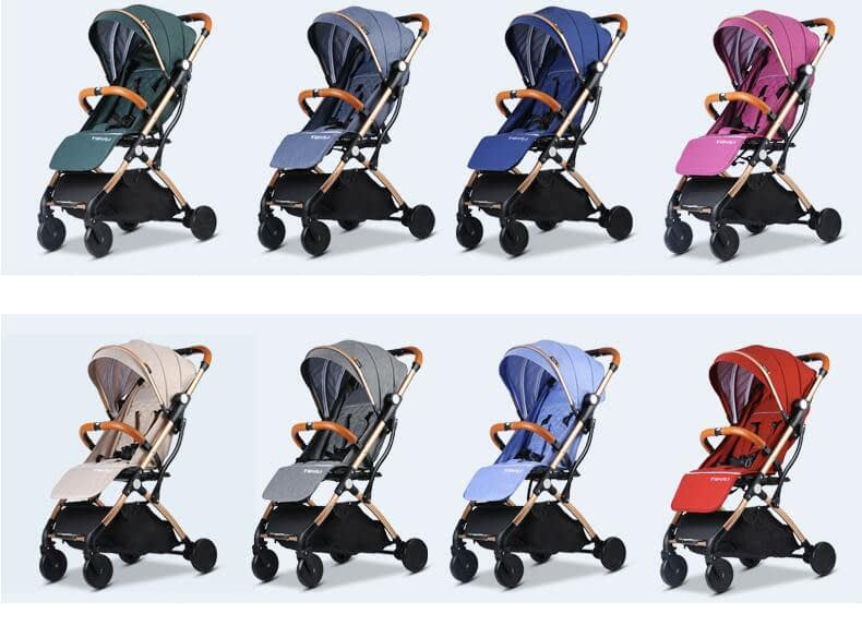 Compact Folding Baby Stroller