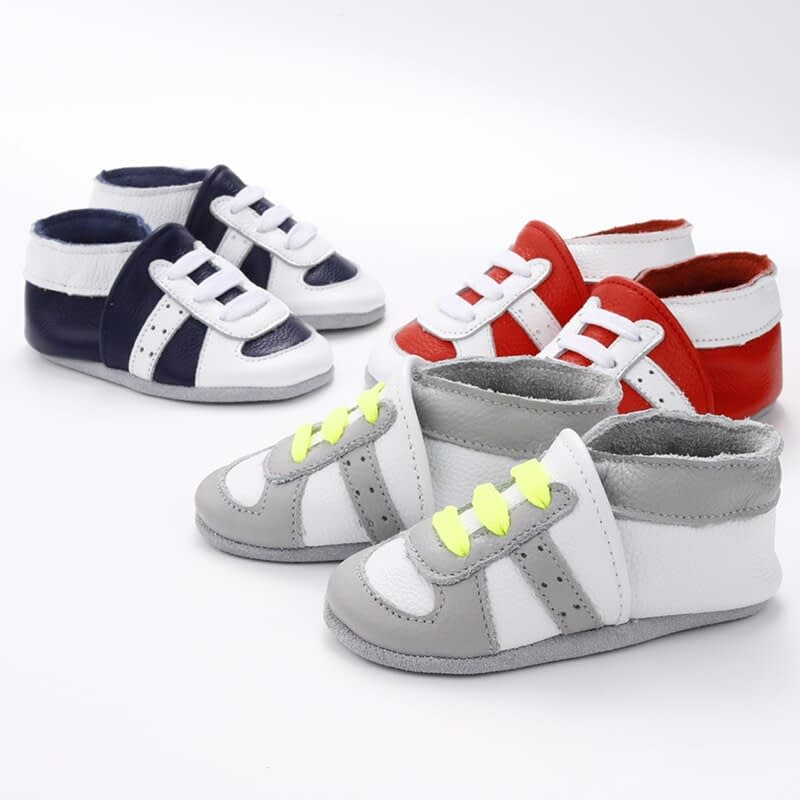 Skid-Proof Baby's Soft Genuine Leather Shoes