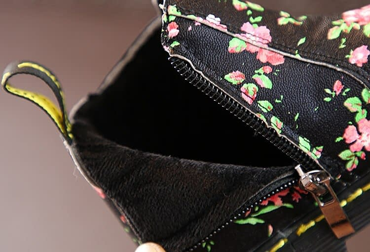 Baby Girl Floral Shoes